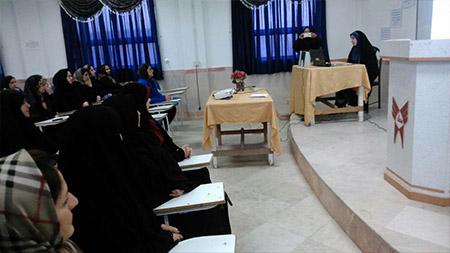 برگزاری همایش «تاثیر رسانه در زندگی انسان» در دبیرستان دور اول دخترانه سما لاهیجان