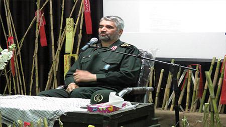 برگزاری یادواره شهدای دانشجو و بزرگداشت شهدای مدافع حرم در سما سیاهکل با حضور سردار فضلی