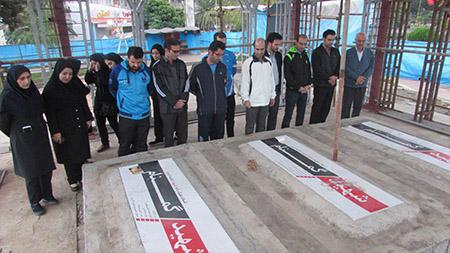 برگزاری همایش پیاده روی کارکنان سما لاهیجان و سیاهکل