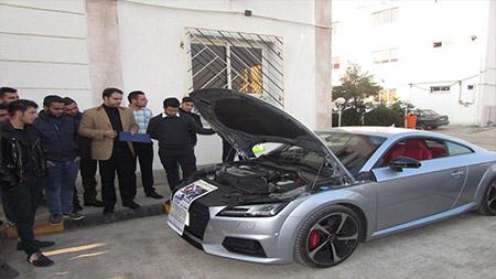 برگزاری مسابقه عیب یابی خودرو در سما لاهیجان