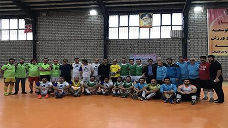مسابقات چهارجانبه فوتسال سما لاهیجان و سیاهکل با قهرمانی آموزشکده سما لاهیجان به پایان رسید