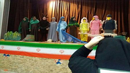 درخشش گروه تئاتر  مدرسه سبز سما لاهیجان در جشنواره تئاتر منطقه ای
