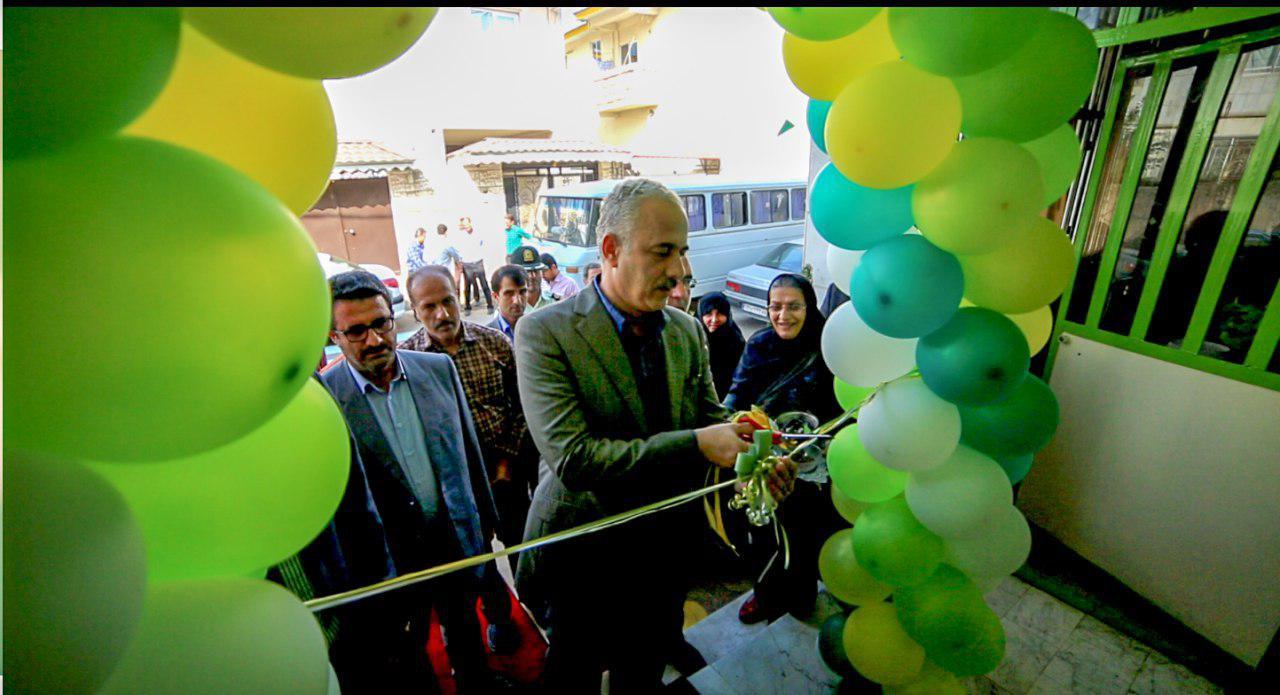 مدرسه سبز سما سیاهکل با حضور مسوولان شهرستان، دانش آموزان و اولیای آنان افتتاح شد