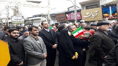 حضور پرشور خانواده سما لاهیجان و سیاهکل در جشن 40 سالگی انقلاب