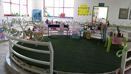 برپایی نمایشگاه مدیریت پسماند در مدرسه سبز سما لاهیجان به مناسبت هفته زمین پاک