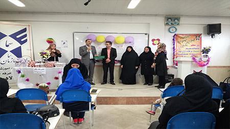 برپایی جشن هفته معلم همراه با ضیافت افطاری در مدرسه دوره اول دخترانه سما لاهیجان