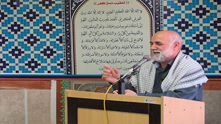 سردار علیزاده در مراسم سالگرد ارتحال امام خمینی(ره) در سما لاهیجان : معامله قرن هرگز عملی نمی شود