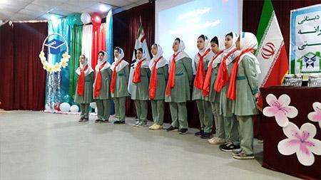 برگزاری مراسم جشن فارغ التحصیلی دانش آموزان پایه ششم و نهم  مدارس سما لاهیجان