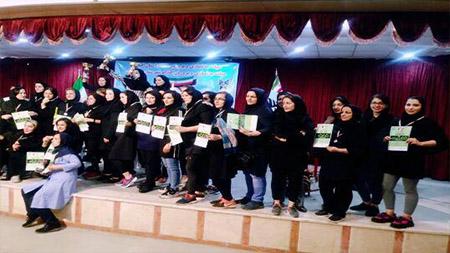 برگزاری اولین دوره مسابقات مچ اندازی بانوان استان گیلان در سما لاهیجان