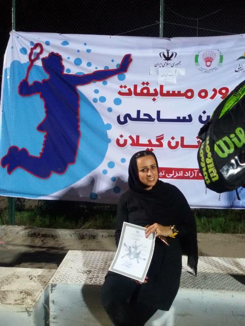  راهیابی دانشجوی سما لاهیجان به مرحله کشوری در رشته بدمینتون ساحلی